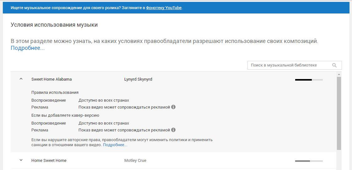 Как не нарушать авторские права на YouTube