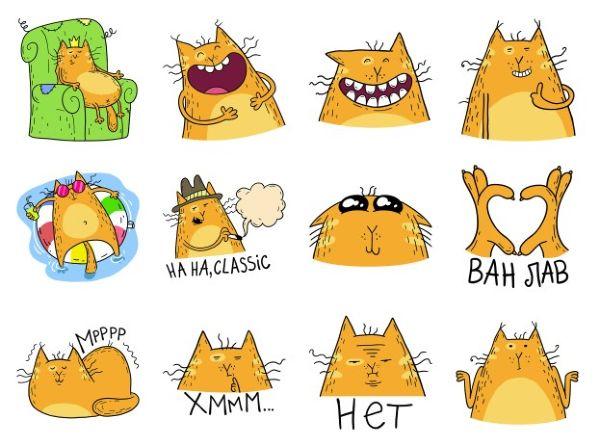 Как бесплатно получить стикеры с котиками в ВК