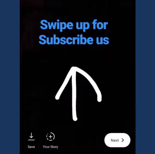 Как сделать свайп и прикрепить активную ссылку к сториз в «Инстаграме»