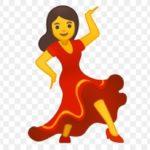 Смайлик-танцовщица