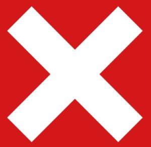 Крестик в квадрате / прямоугольнике