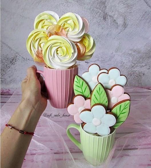 Кружки со сладостями
