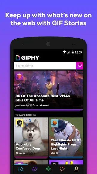 приложение Giphy