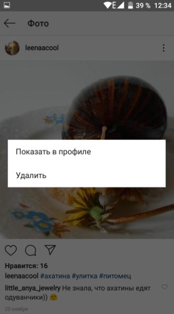 показ фото в профиле инстаграм