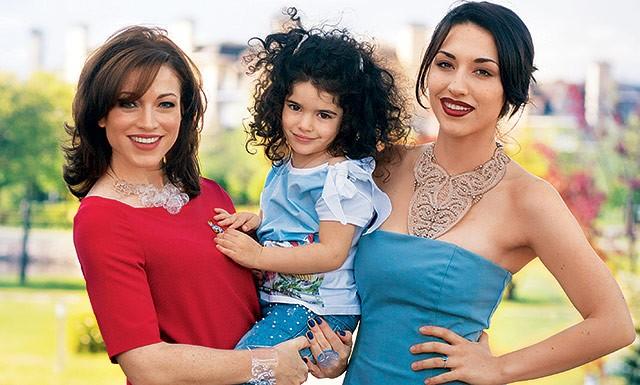 На кого же похожи Саша и Ксюша – дочки Алены Хмельницкой?