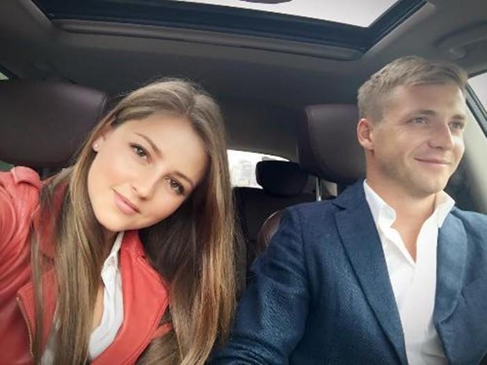Анна Михайловская с бывшим мужем