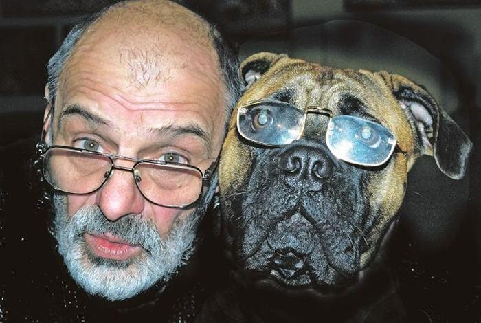 Юрий Соловей и собака