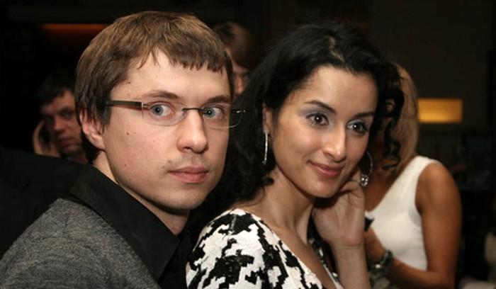 Второй брак Тины Канделаки с Василием Бровко совместное фото