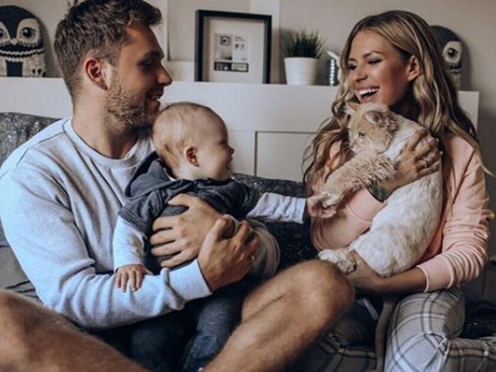 бывший муж риты дакоты с ребёнком