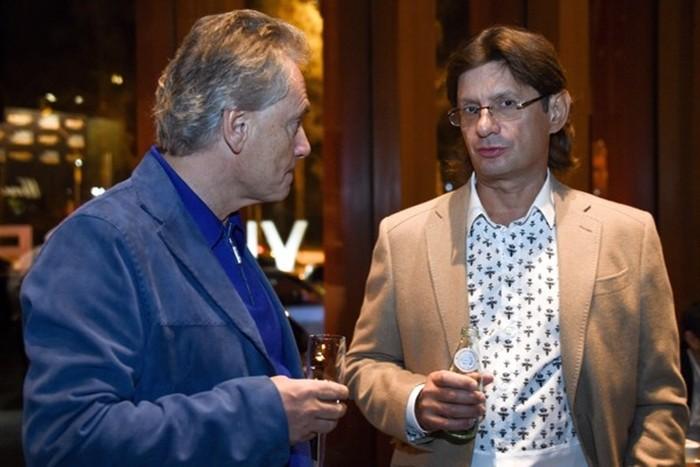 Владимир Киселев с коллегой