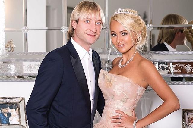 Евгений Плющенко с Яной Рудковской