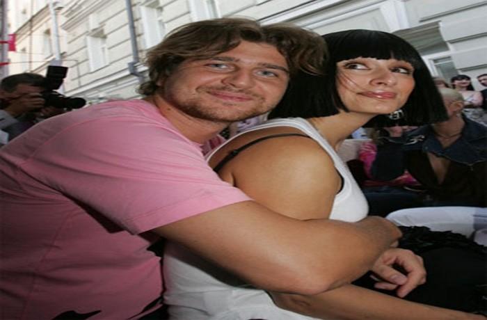 Андрей Кондрахин с женой