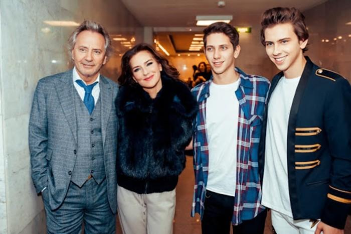 Владимир Киселев и семья
