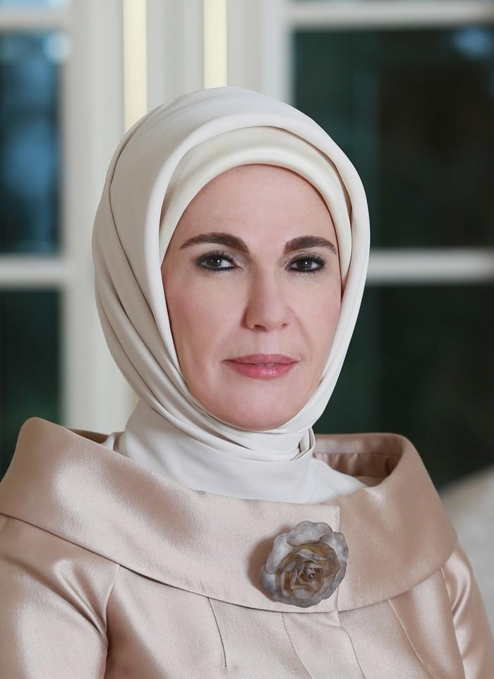 жена эрдогана