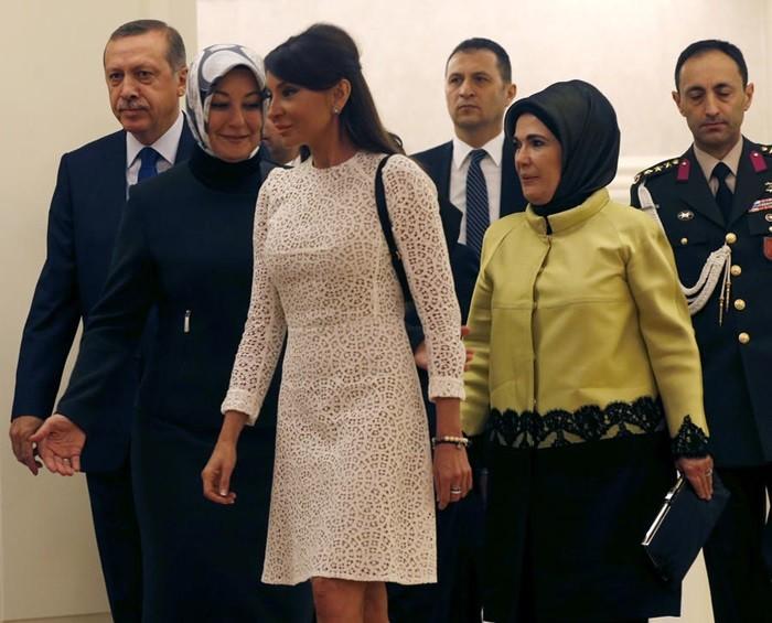 жена эрдогана фото